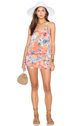 Vitamin A Regina Romper Orange
