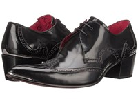 Jeffery West Brogue Black Red Men's Shoes