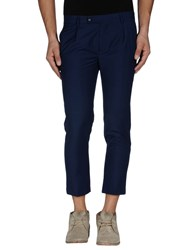 Daniele Alessandrini Trousers 3 4 Length Trousers Men Dark Blue