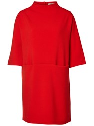 Selected Femme Lava Dress Flame Scarlett