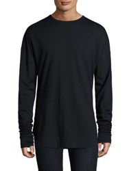 Zanerobe Oversized Long Sleeve Tee Black