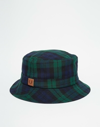 Fred Perry Reversible Bucket Hat Navy
