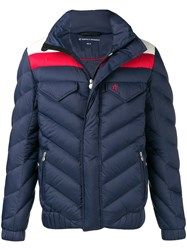 Perfect Moment Apres Padded Jacket Blue
