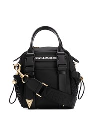 Versace Jeans Couture Mesh Trimmed Tote 60