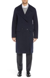 Sanyo Wool Blend Chesterfield Coat Midnight