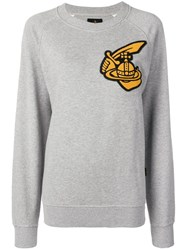 Vivienne Westwood Oversized Patch Sweatshirt Grey