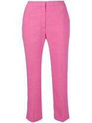 Mulberry Tailored Cropped Trousers Pink