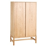 Habitat Drio Oak 2 Door Cabinet Natural