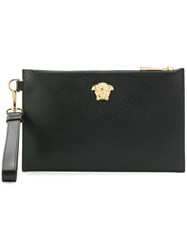 Versace Medusa Head Clutch Bag Black