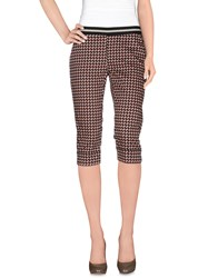 Pianurastudio Trousers 3 4 Length Trousers Women Pink