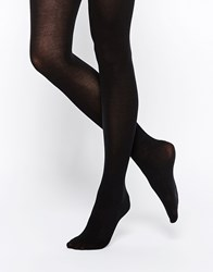 Jonathan Aston Jonathon Aston Finesse Opaque Cotton Tights Black