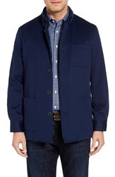 David Donahue Men's Loro Piana Shirt Jacket