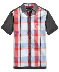 Sean John Plaid Shirt