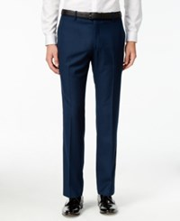 Inc International Concepts Men's Customizable Slim Fit Tuxedo Pants Only At Macy's Navy Slim Pant