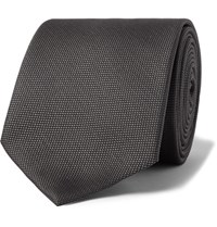 Hugo Boss 7.5Cm Silk Jacquard Tie Gray