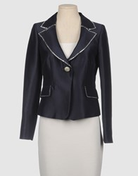 Gai Mattiolo Suits And Jackets Blazers Women Blue