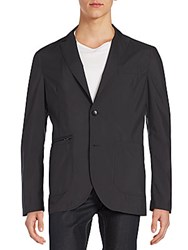 Allegri Peak Lapel Blazer Black
