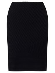 Marc Cain Textured Jersey Skirt Black