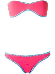 Sub Bikini Set Pink Purple
