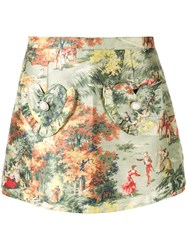 Alice Mccall Forest Print Skort 60