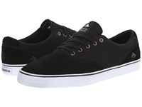 Emerica The Provost Slim Vulc Black White Men's Skate Shoes