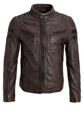 Gipsy Remmy Leather Jacket Anthrazit Anthracite
