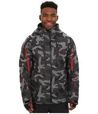 Obermeyer Charger Jacket Snow Camo Men's Coat White