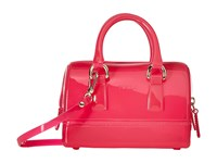 Furla Candy Sweetie Mini Satchel Gloss Satchel Handbags Pink