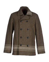 Deus Ex Machina Coats And Jackets Coats Men Military Green