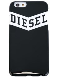 Diesel Logo Print Iphone 6 Case Black