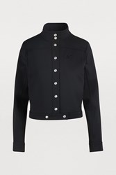 Courreges Cropped Jacket Noir