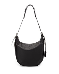 Rag And Bone Rag And Bone Bradbury Pebbled Leather Hobo Bag Black