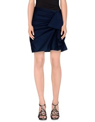 Coast Weber And Ahaus Skirts Knee Length Skirts Women Dark Blue