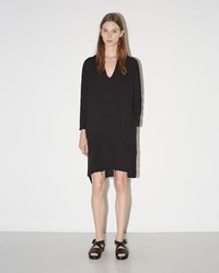 Raquel Allegra Tunic Dress Black