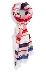 Kate Spade Women's New York Berber Stripe Scarf