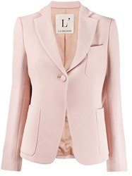L'autre Chose Fitted Blazer Pink