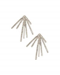 Lydell Nyc Crystal Burst Stud Earrings