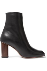 Neous Spath Leather Ankle Boots Black