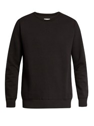 Adidas Originals By Wings Horns Crew Neck Bonded Cotton Jersey Sweater Black