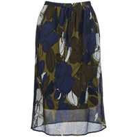 Paul Smith By Women's Floral Twisted Skirt Multi