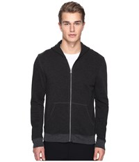 Atm Anthony Thomas Melillo French Terry Zip Hoodie Charcoal Heather
