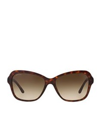 Bulgari Tortoiseshell Butterfly Sunglasses Brown