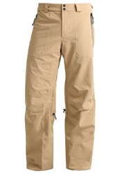 O'neill Jeremy Jones Waterproof Trousers Marl Brown Beige