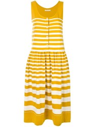 Chinti And Parker Button Down Dress Yellow And Orange
