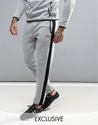Ellesse Sport Joggers With Panels In Skinny Fit Grey