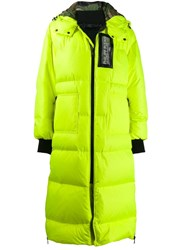 Philipp Plein Space Coat Yellow