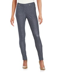 Michael Michael Kors Sailor Striped Leggings New Navy