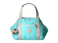 Kipling Art U Fresh Teal Satchel Handbags Green
