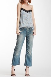 Stitch's Jeans Cropped Leg Jean Blue
