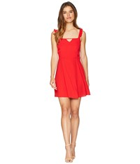 Lucy Love Falling For You Dress Scarlet Red